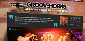 Groovehorns new website